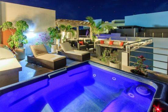 Playa del Carmen vacation rentals - Private rooftop - PH Laguna