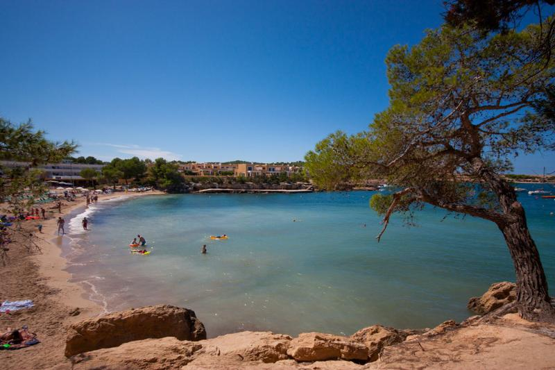The beautiful beach of Port des Torrent - 15 mins walk away