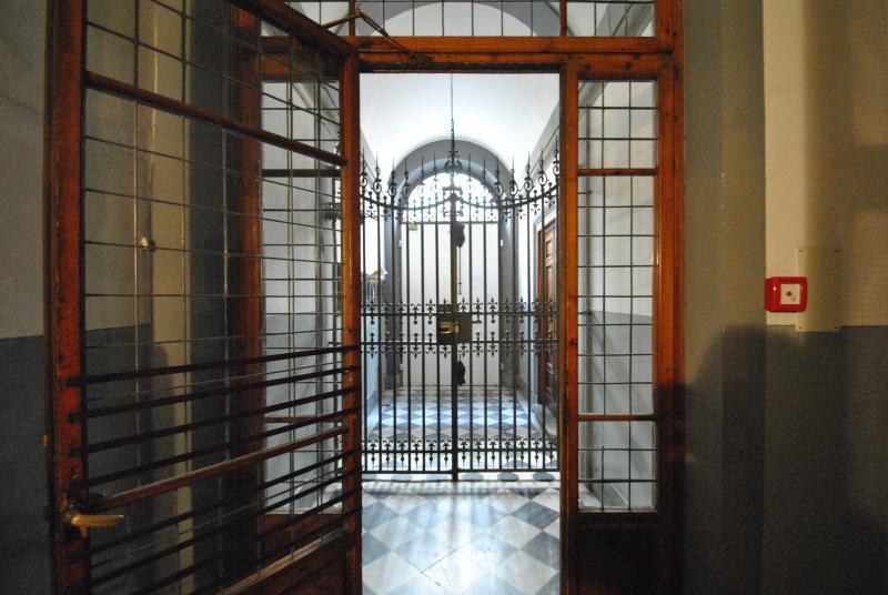 a splendid entrance gate
