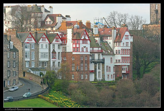View from Princes Street Gardens