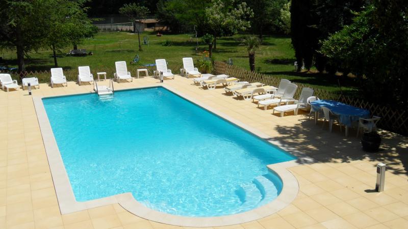 la piscina (8mx12m)