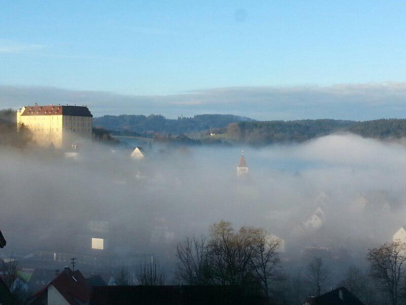 The unique views of the Untergröninger Castle