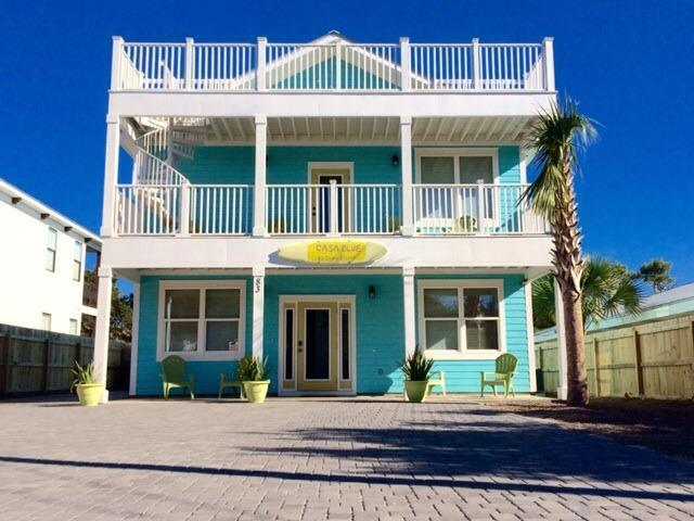 New Property. Steps to Beach. Top Rated. 6 BR / 20 person. Private heated pool