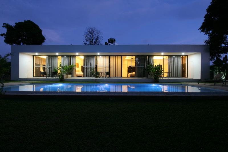 Enjoy and  experience star gazing and moonlight from our outdoor private swimming pool .