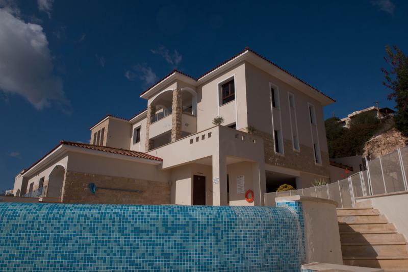 Exterior photo taken in mid December. Winter in sunny Cyprus!