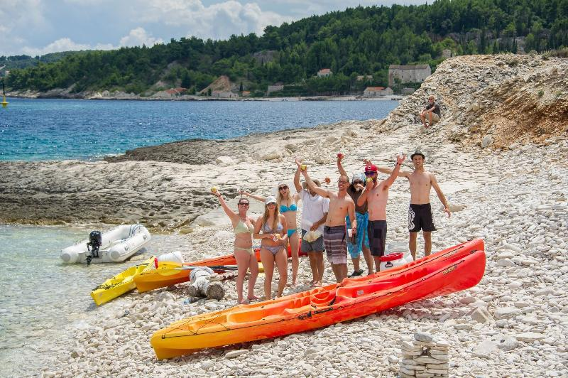 Sea kayaking expedition organised by Captain Villa