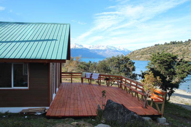 Vacaciones familiares en la Patagonia, location de vacances à Puerto Rio Tranquilo