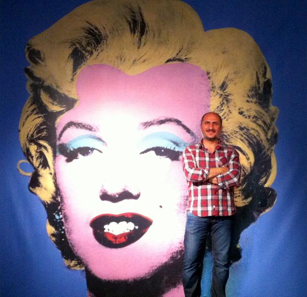 ... and finally me! ... and Marylin! ...