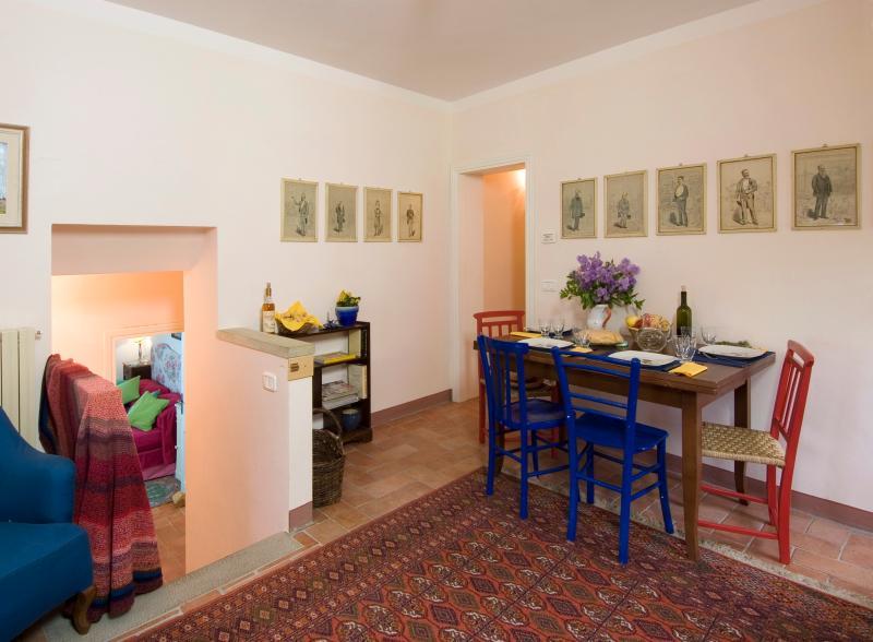 Casa Scaletta, living room