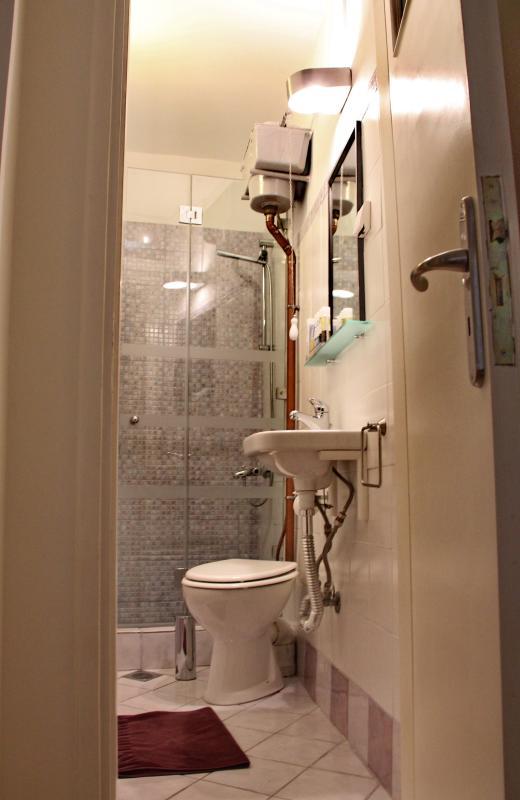 Garden suite full bathroom with shower