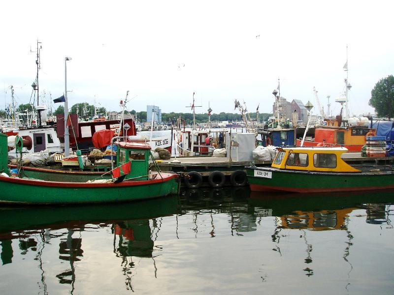 Port de pêche Kolobrzeg