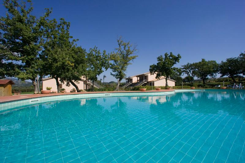 Wellness centre near Pitigliano,ground floor lodging,air conditioning,pool, vacation rental in Elmo