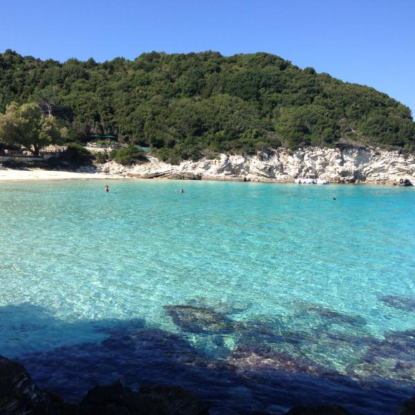 Antipaxos  is a short boat ride away from Loggos.