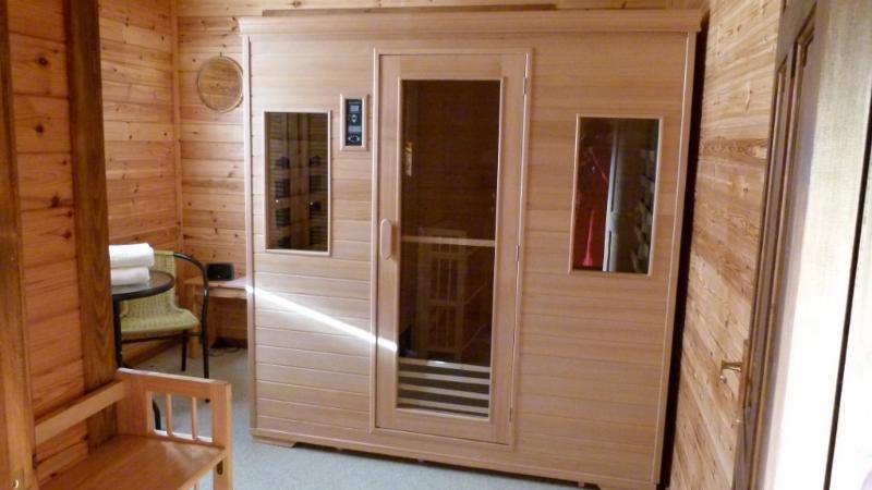 The Sauna room