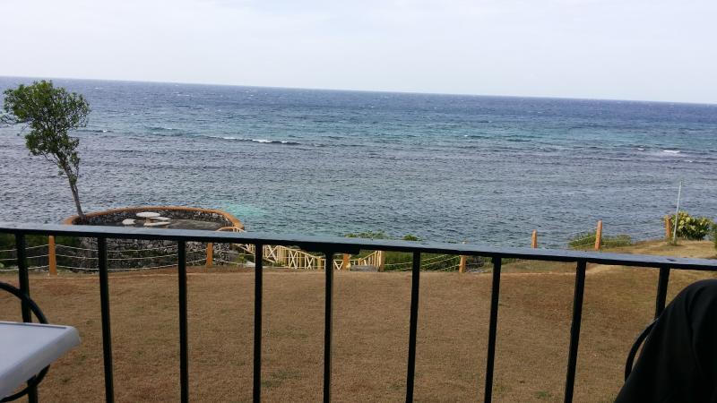 vista al mar desde el apartamento