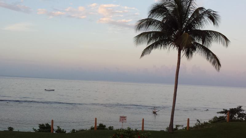 sunset at carib