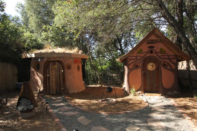 Hobbit Hut and Gingerbread House