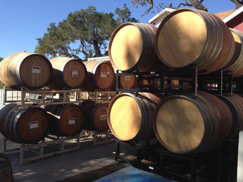 This is a working winery property with a beautiful tasting room and grounds.