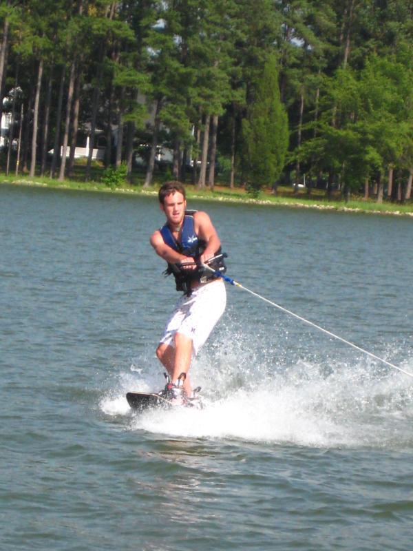 Water skiing, wake boarding and tubing! - Great fishing too!
