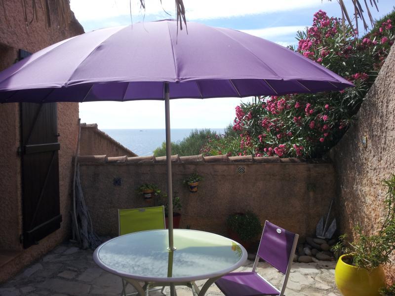Terrace for sun bath