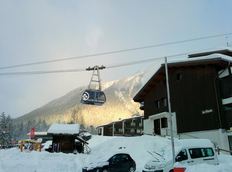 Ski-in/out studio at Grands Montets, Argentiere, alquiler vacacional en Argentière