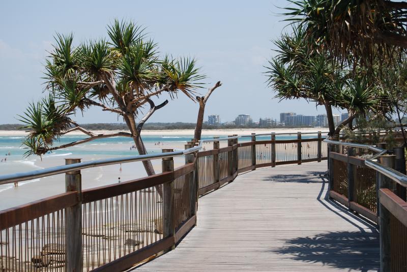 Boardwalk from Kings Beach to Happy Valley Beach.