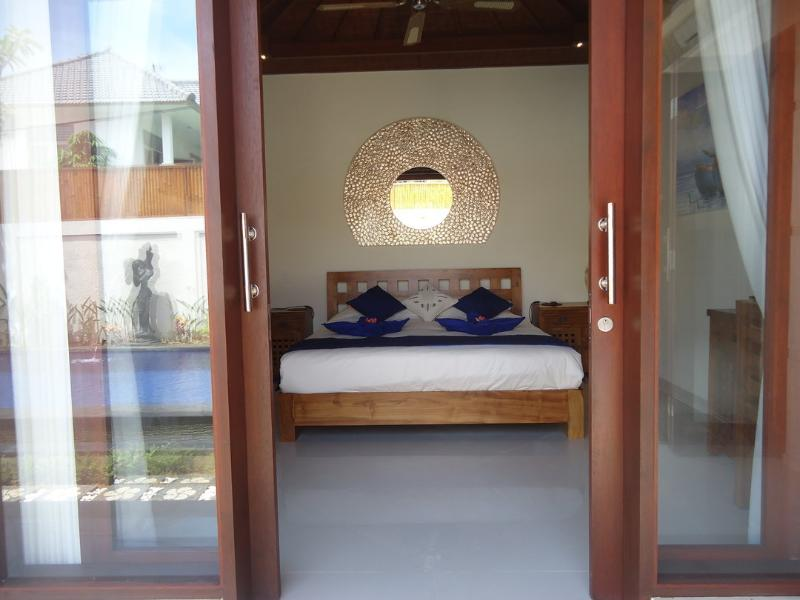 Master Bedroom entrance from pool area