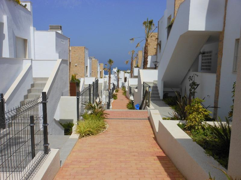 The gated complex is styled on an Andalusian village