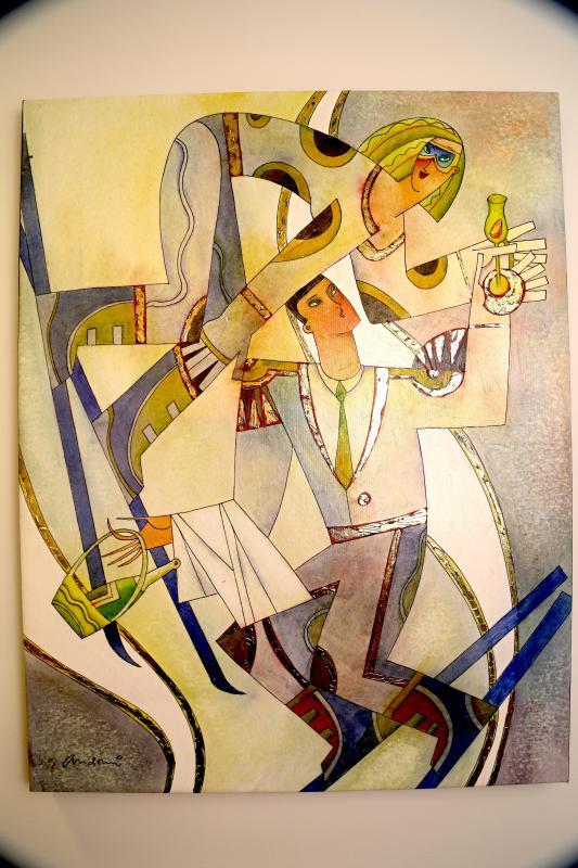 Original Artwork from local artist Andrei Protsouk