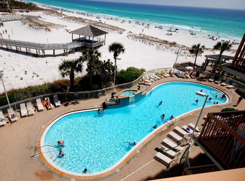 Beach at the Pelican Resort