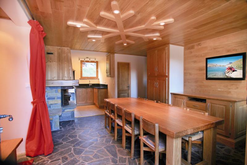 Le trappeur Courchevel 1850 : appartement avec hammam, pied des pistes, vacation rental in Courchevel