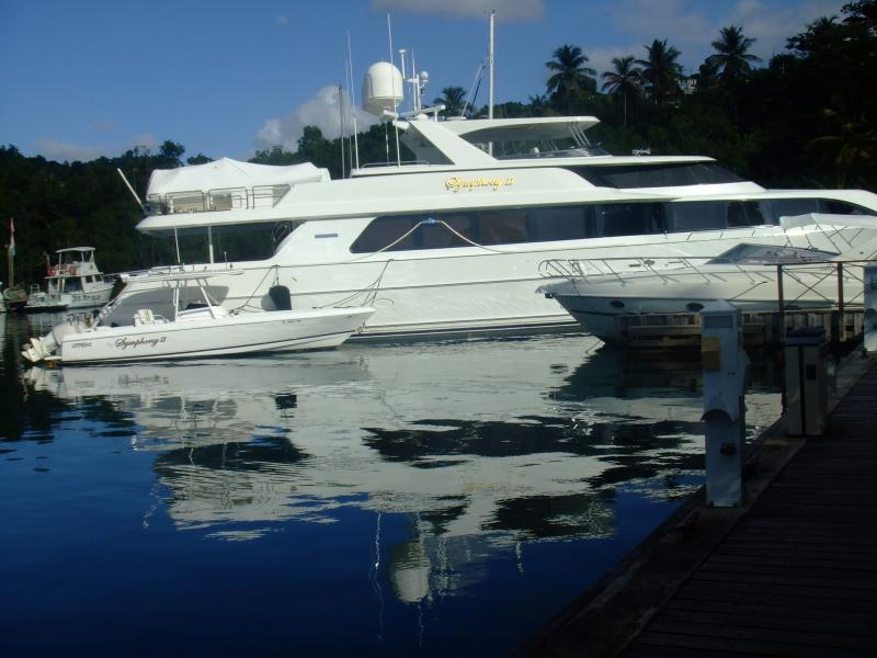 My favourite yacht in Marigot Bay
