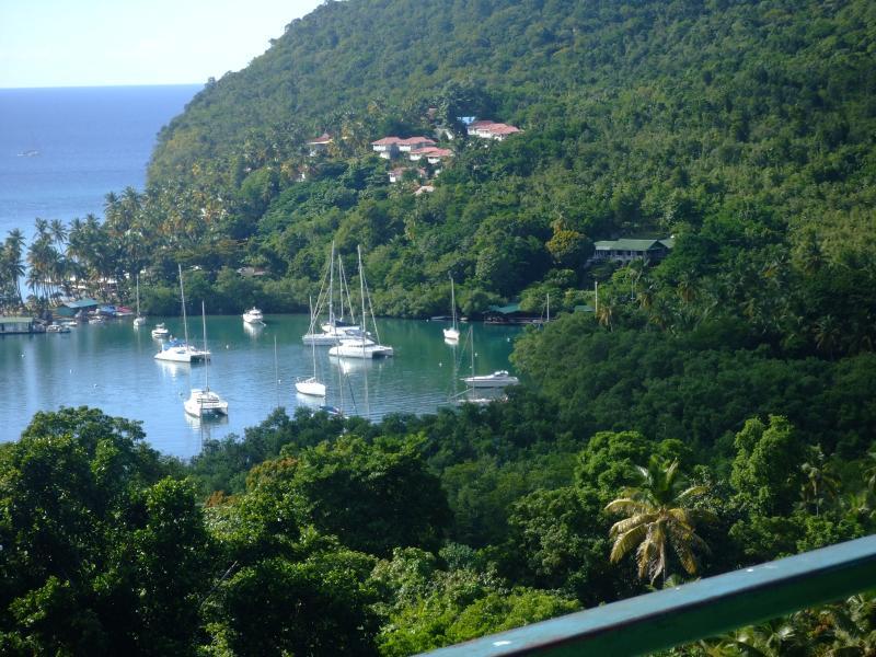View of Marigot Bay