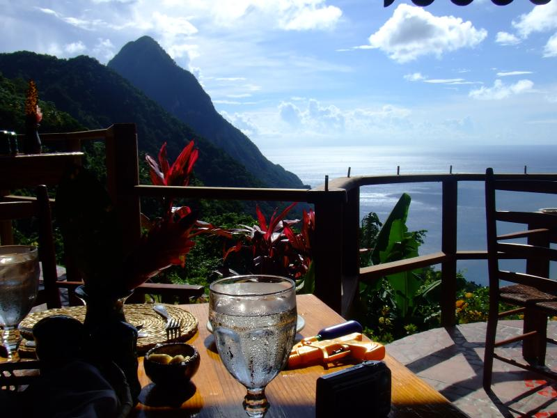 View from the Ladera Hotel