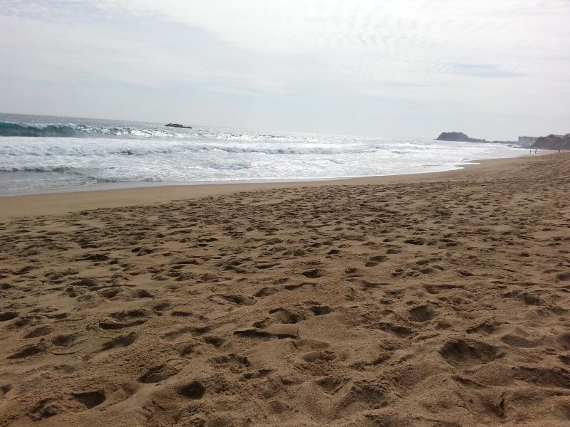 Reñaca beach, north-west view