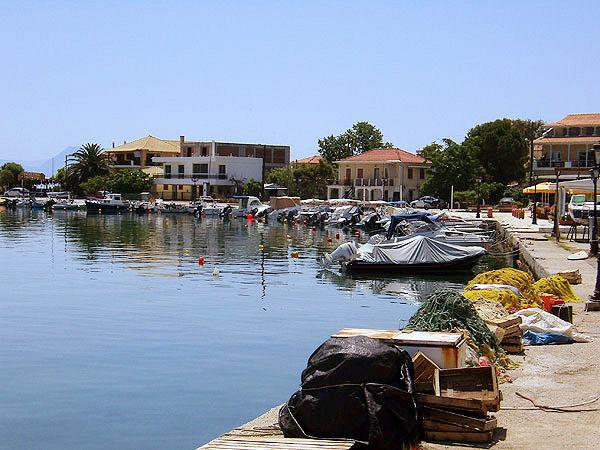 Nikiana picturesque marina at 2kms down from the villa