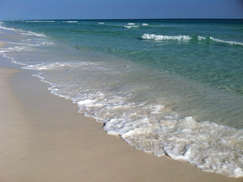 La plage de sable de sucre est qu'à quelques minutes
