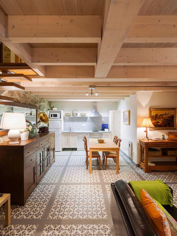 Salón-Cocina de la Casa Pepo