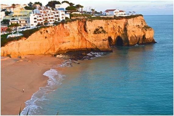 Praia do Carvoeiro -  a rare jewel