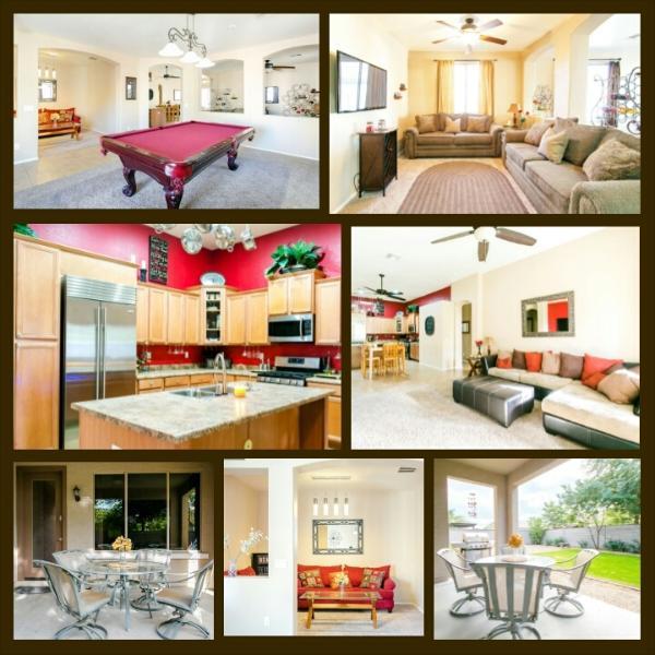 Bienvenue chez vous à un plan d'étage ouvert confortable !
