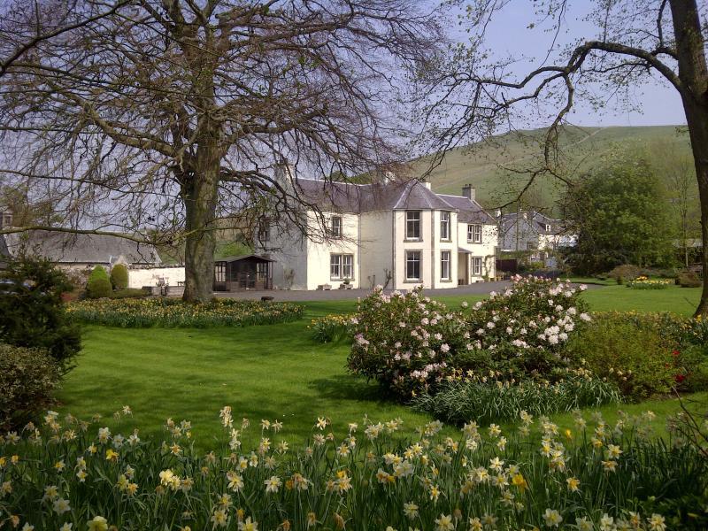 Glebe House in spring