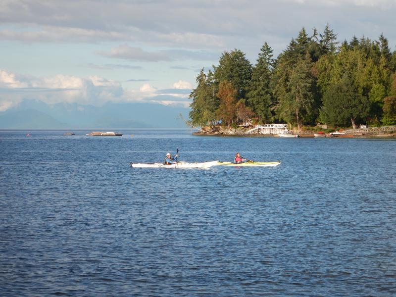 Alquilar nuestros kayaks y salir por una paleta!