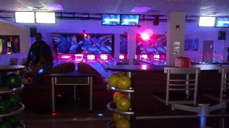 bowling alley at Split Rock