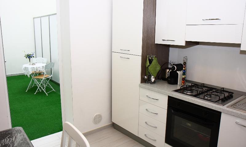 cocina + patio privado