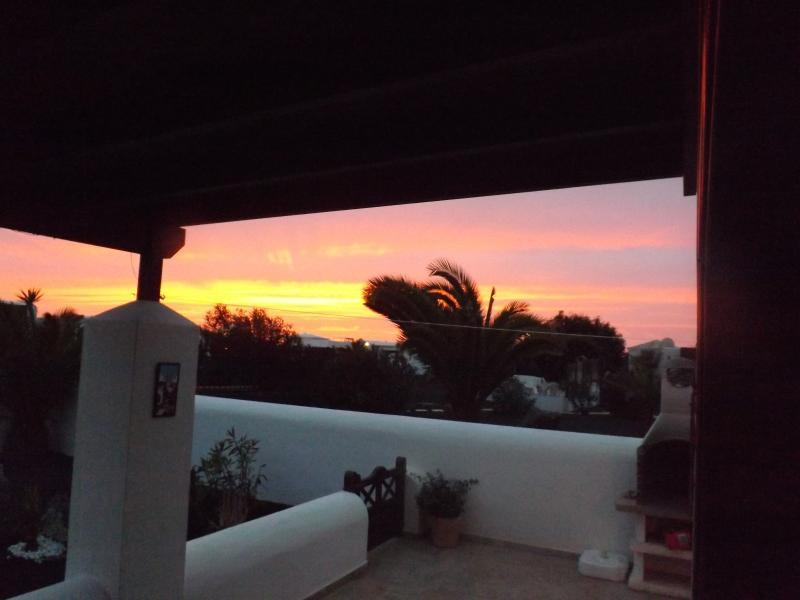 Sunset at Faro Park