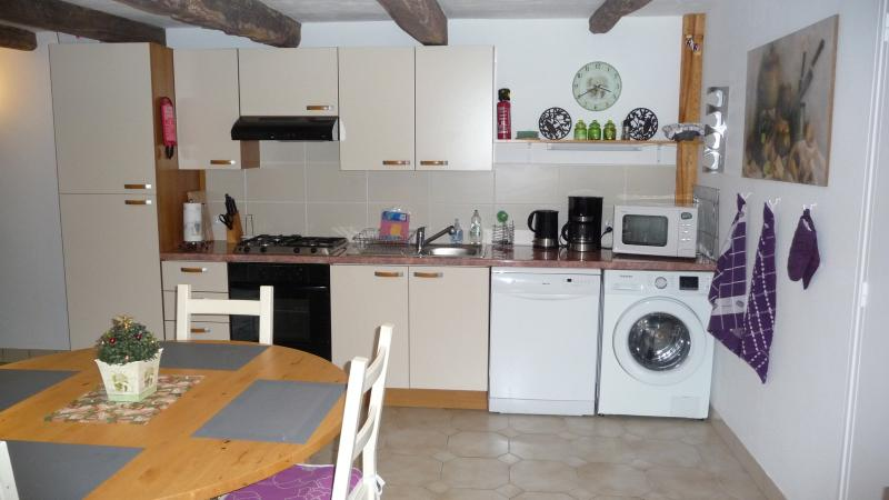 The Annexe: fully equipped kitchen (Xmas 2014)
