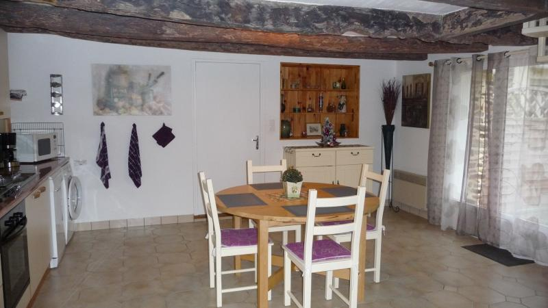 The Annexe: dining and kitchen area (Xmas 2014)