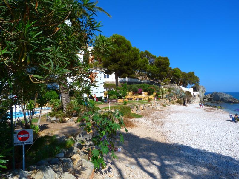 Jardín playa