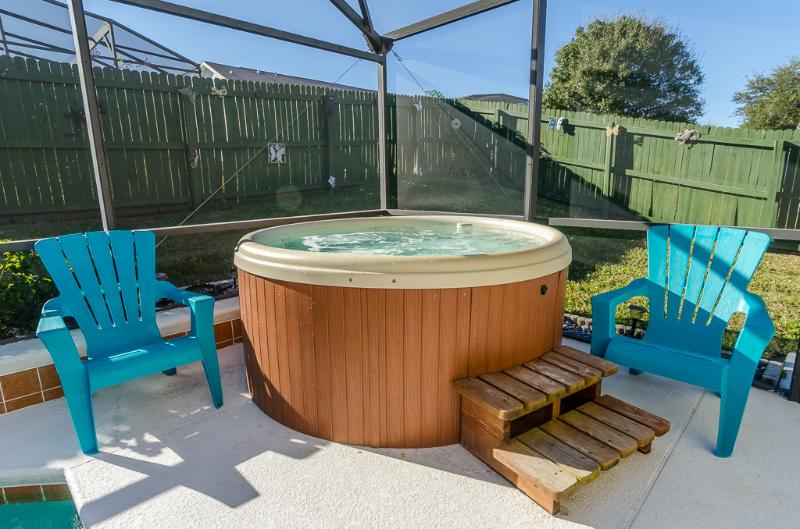 Enjoy the wonderful relaxing Hot tub