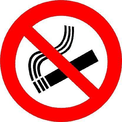 Stanze No Smoking ... ma per i Fumatori abbiamo un area riservata ...